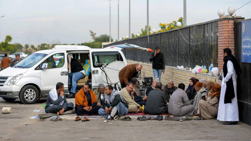 Familiares de vítimas do atentado