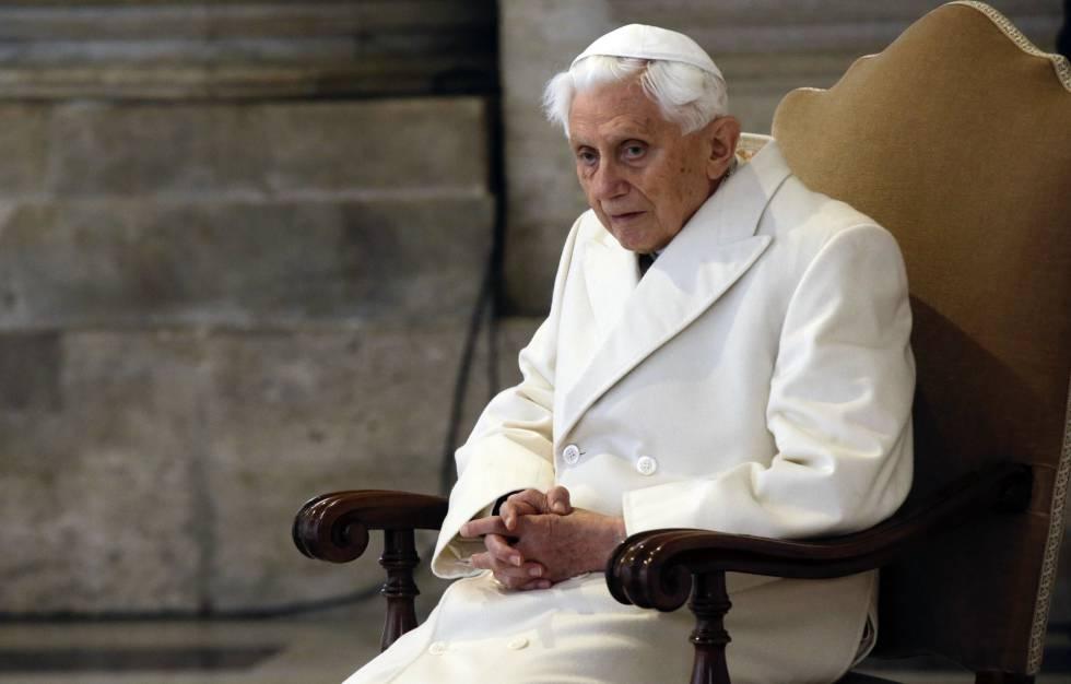 O papa emérito, Bento XVI, em 2015