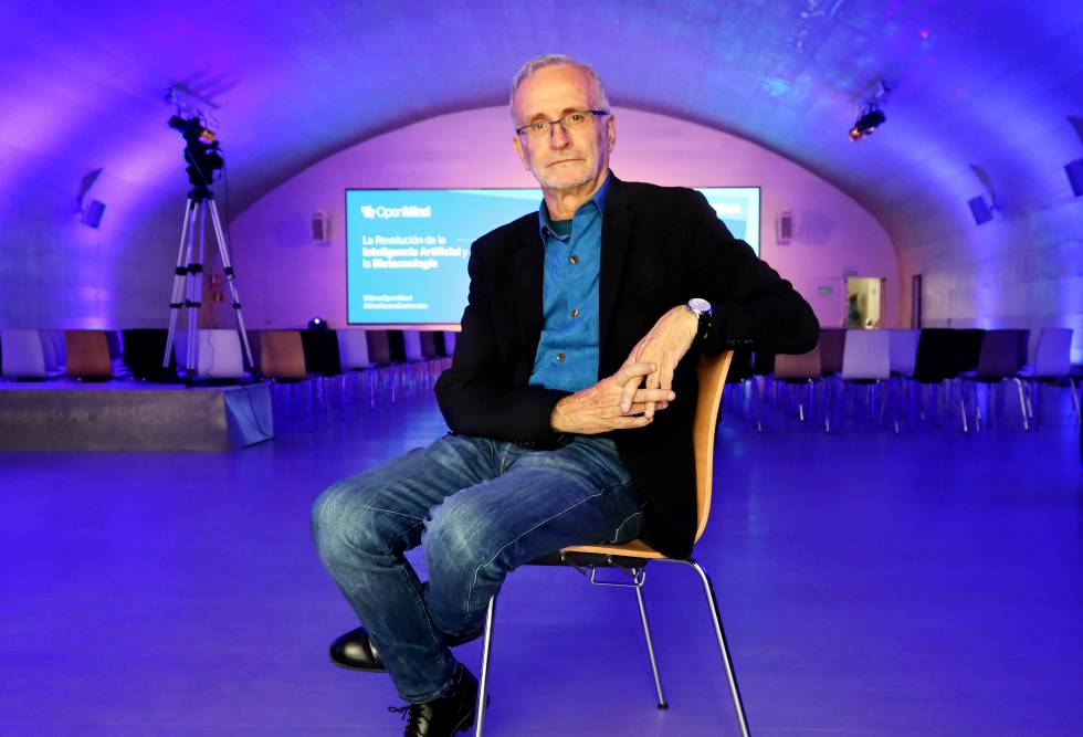 Ramón López de Mántaras, diretor do Instituto de Pesquisa de Inteligência Artificial, na segunda-feira em Madri.