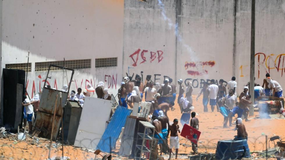 Confrontos na prisão de Alcaçuz, em Natal