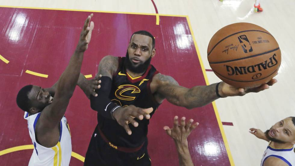LeBron James, na última final contra Green