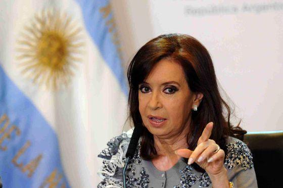 A presidenta argentina, Cristina Fernández.