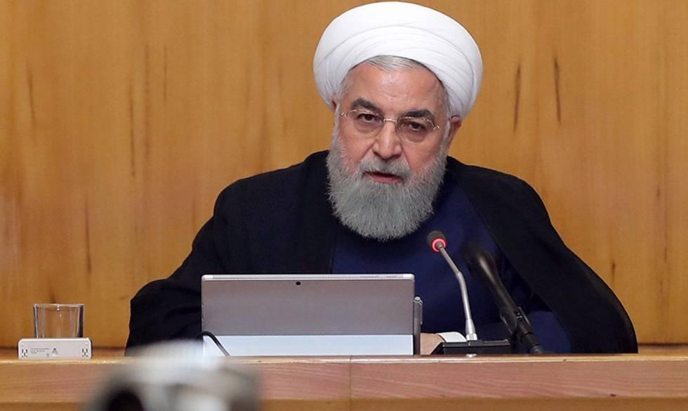 O presidente do Irã, Hasan Rohani, em imagem de arquivo.