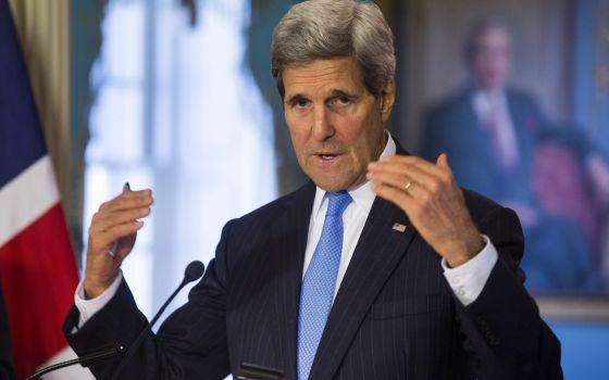 O secretário de Estado dos EUA, John Kerry, na quarta-feira.
