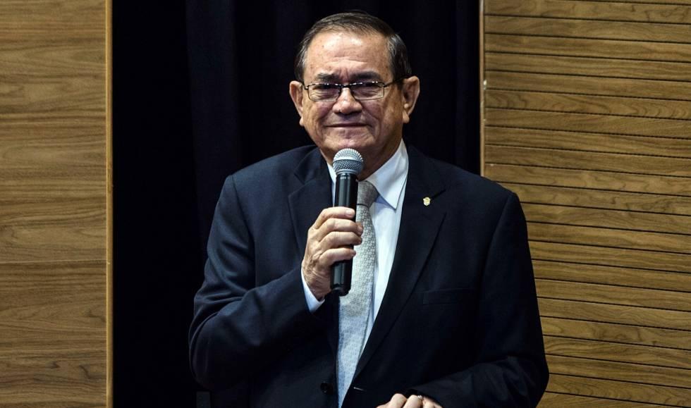 Coronel Nunes, presidente da Confederação Brasileira de Futebol.