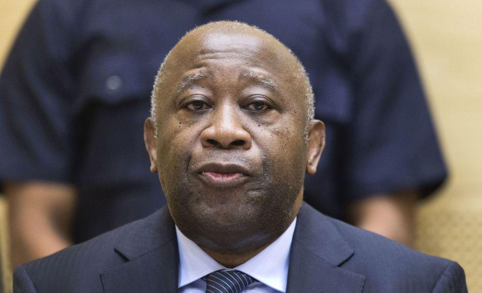 Laurent Gbagbo, em audiência em Haia, em 2013.