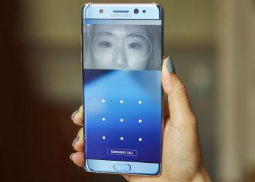 Novo smartphone da marca coreana incorpora o desbloqueio com os olhos e permite escrever e navegar com água sobre a tela