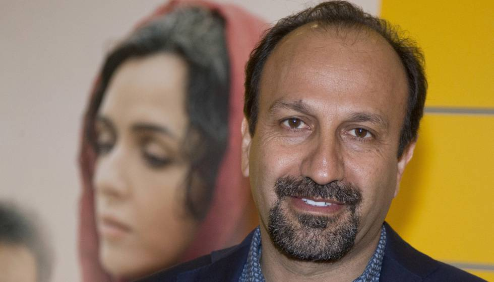 Asghar Farhadi, em outubro, na apresentação de 'O Apartamento', em Paris.