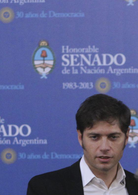O ministro da Economia da Argentina, Axel Kicillof.