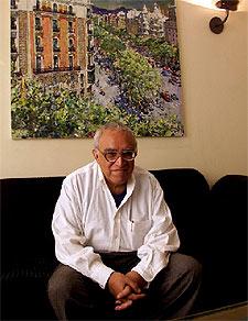 El escritor y periodista mexicano Carlos Monsiváis.