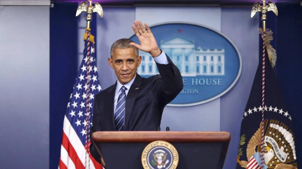Última conferência de Obama