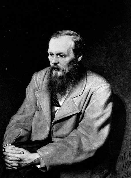 Retrato de Fiódor Dostoievski (1821-1881) realizado por Vassili ...