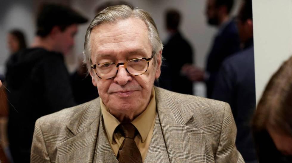 O ideólogo da direita Olavo de Carvalho, em Washington, em março.