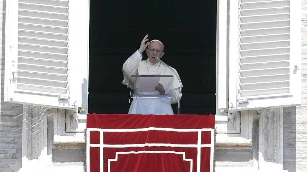 O papa Francisco em 19 de agosto de 2018 no Vaticano
