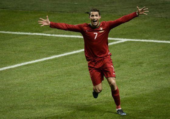 Cristiano Ronaldo a aposta da Nike.