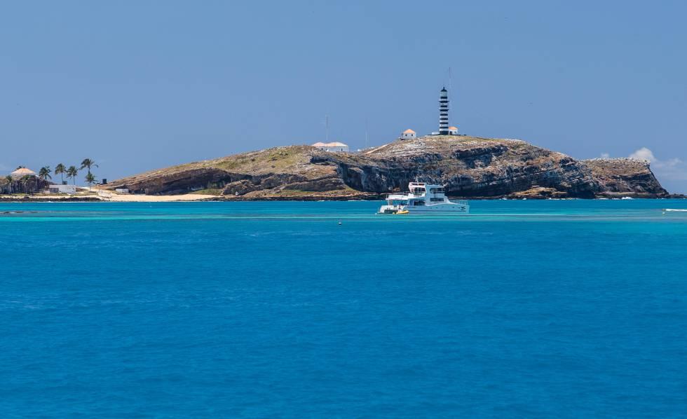 Arquipélago de Abrolhos, na Bahia.