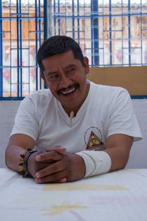 Alberto Patishtán in a Facebook photo.