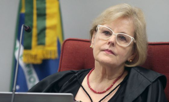 A ministra Rosa Weber.