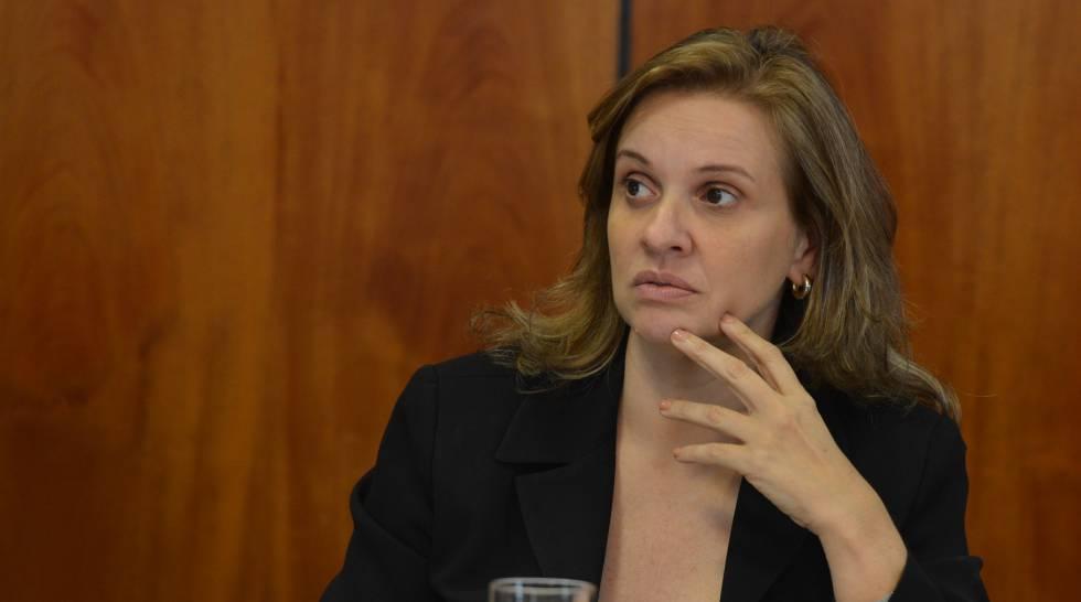 A secretária de Planejamento do DF, Leany Lemos.