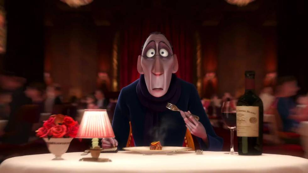 Cena do filme 'Ratatouille'.