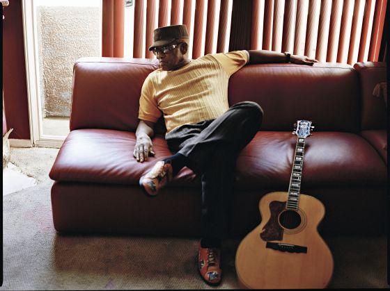 O cantor Bobby Womack.