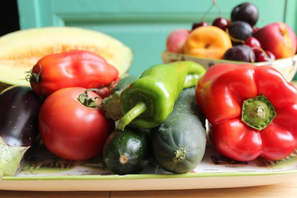 Incluir mais 'verde' no prato faz bem.