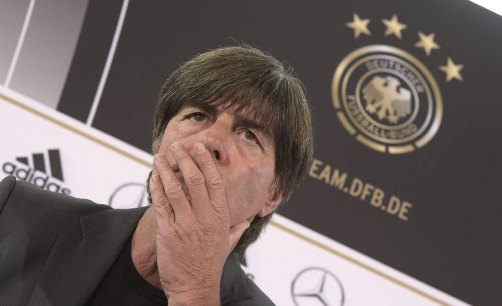 O treinador alemão Joachim Löw.