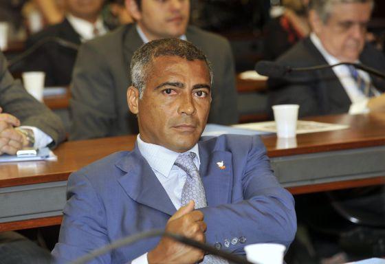 O deputado federal Romário de Souza.