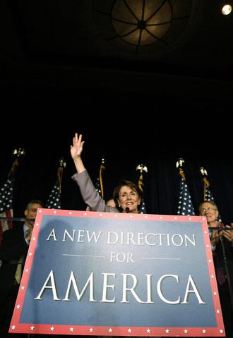 Nancy Pelosi será la primera mujer en presidir la Cámara Baja
