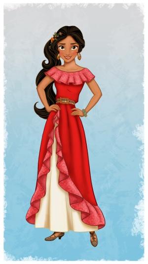 Elena De Avalor Disney Apresenta Sua Primeira Princesa De Origem