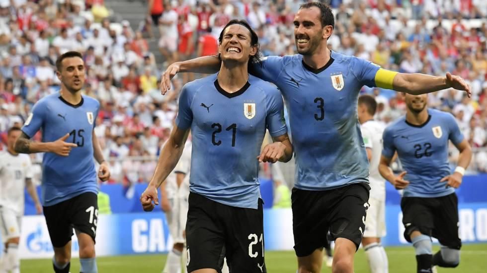 Uruguai se classifica em primeiro lugar no Grupo A