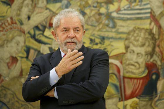 Lula, nesta quinta-feira, em Madri.
