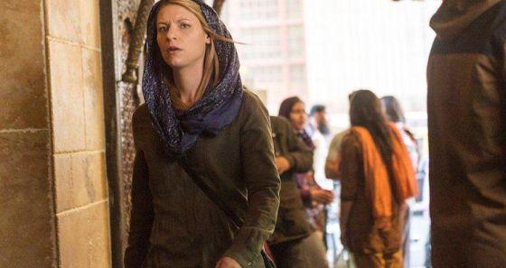 Claire Danes, em uma imagem promocional de 'Homeland'.