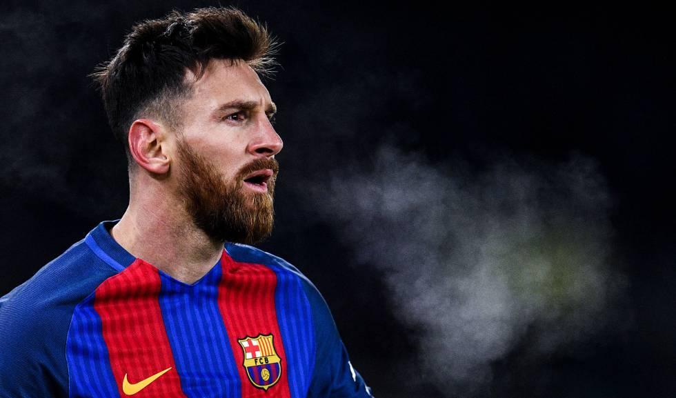 Messi, em jogo contra a Real Sociedad.