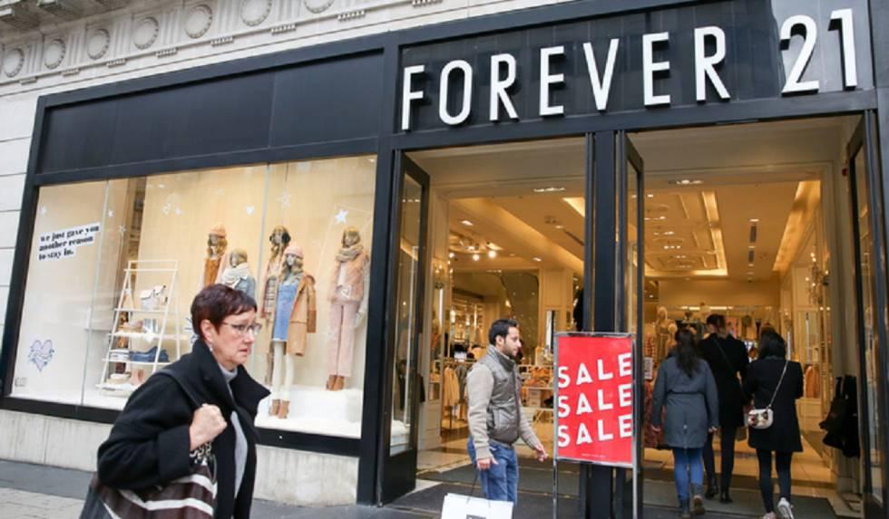 Uma loja de Forever 21, em Londres.