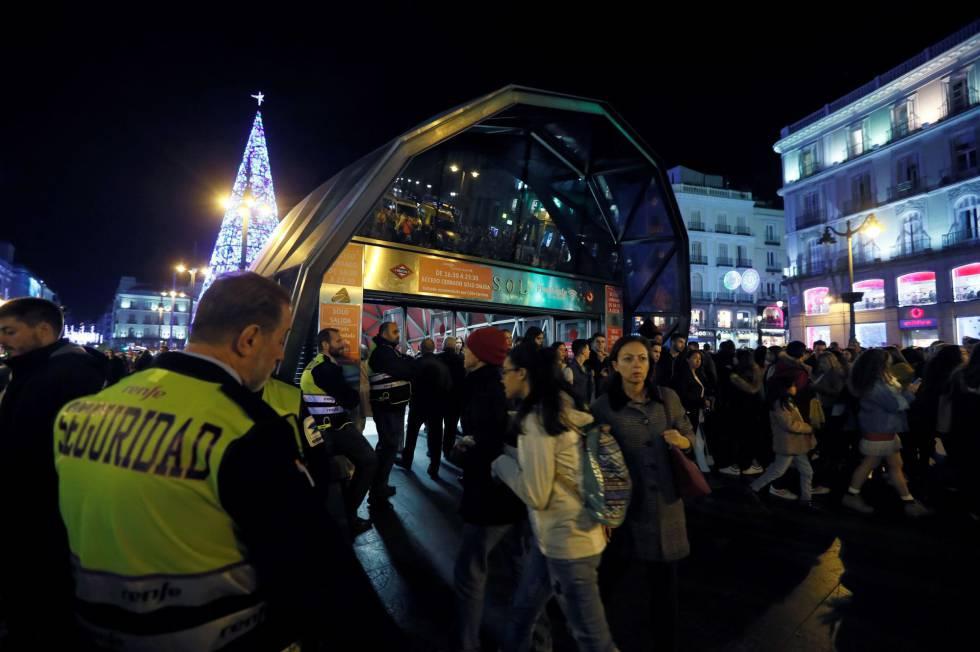 Madri inaugurou iluminação de Natal do centro.