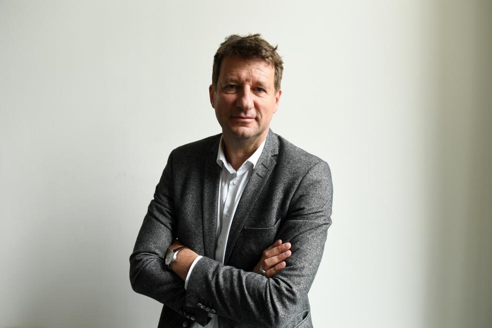 Yannick Jadot, líder da Europa Ecologia − Os Verdes.
