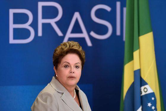 Dilma Rousseff no último dia 13, em Brasília.