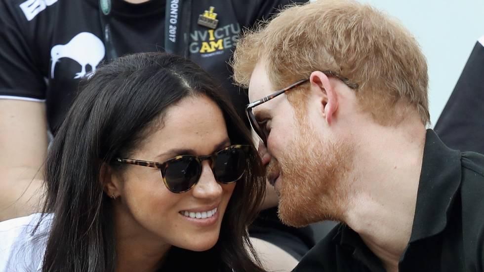 Meghan Markle e o príncipe Harry