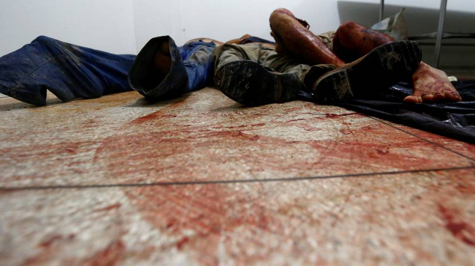 Nove homens e uma mulher morreram na ação policial