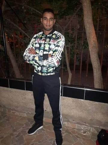 O boxeador Hassan Saada.
