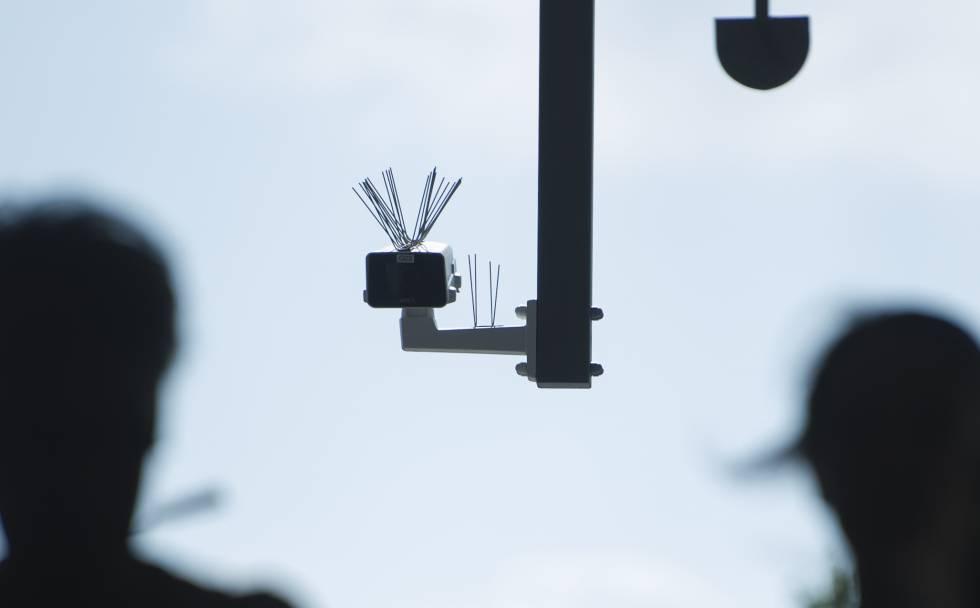 Teste de reconhecimento facial em Shenzhen, China, em 30 de outubro
