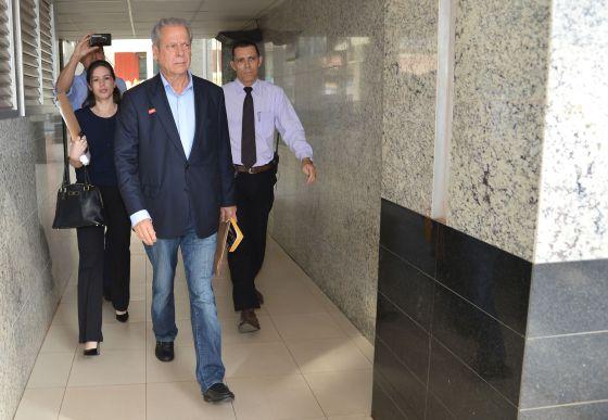 O ex-ministro José Dirceu.