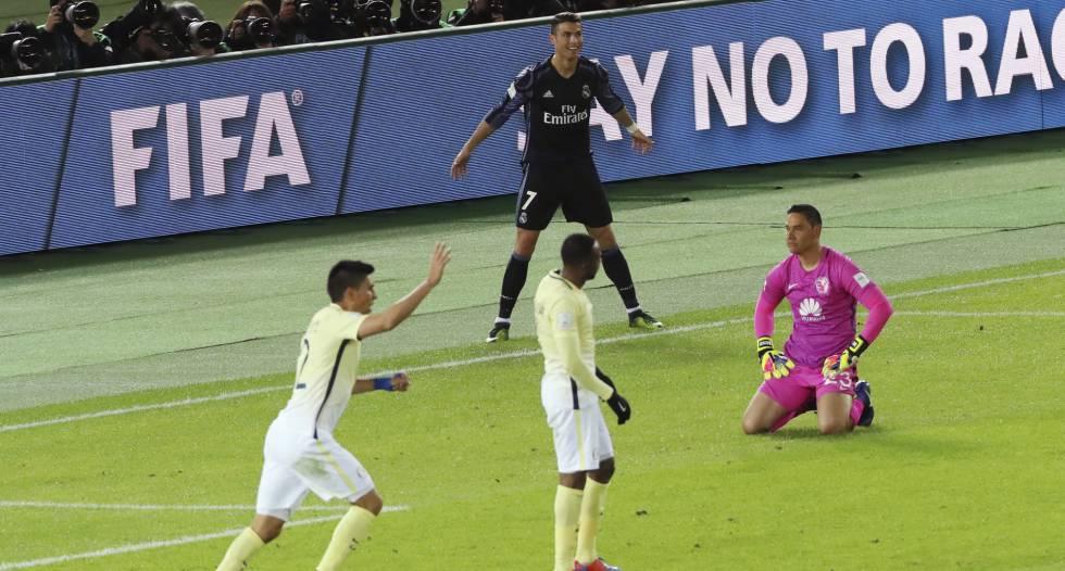 Cristiano Ronaldo, autor do segundo gol do Real.