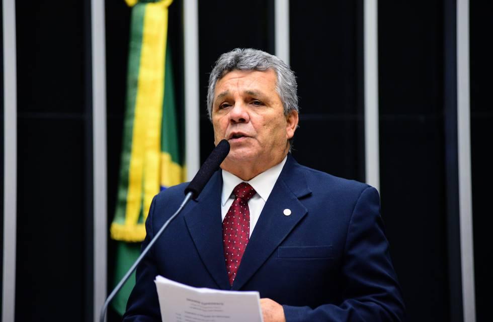 O deputado Alberto Fraga, do DEM.