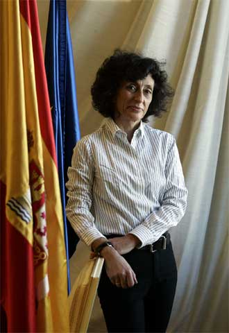 Mercedes Cabrera, ministra de Educación y Ciencia.