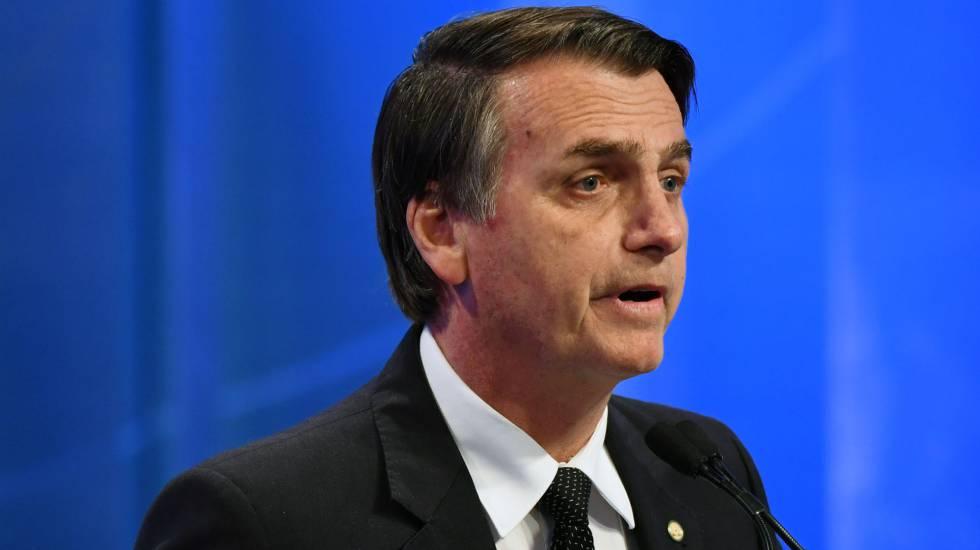 O candidato do PSL, Jair Bolsonaro, segue líder de intenções de voto