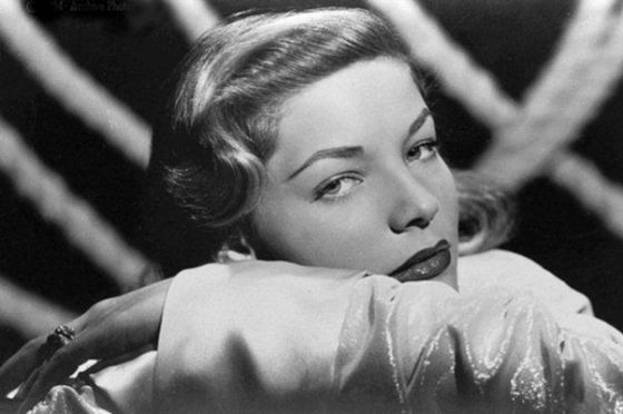 Lauren Bacall em uma cena de 'Uma Aventura na Martinica', de Howard Hawks.