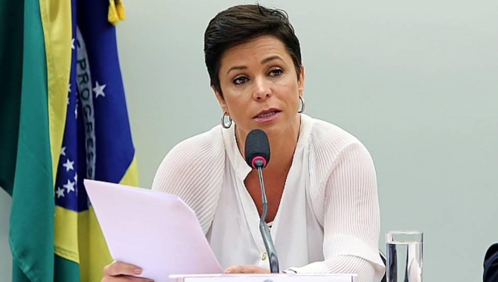 Cristiane Brasil, em Brasília.