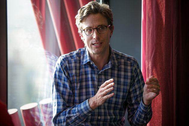 Jonah Peretti, diretor-executivo, do Buzzfeed, em L'Hospitalet de Llobregat.